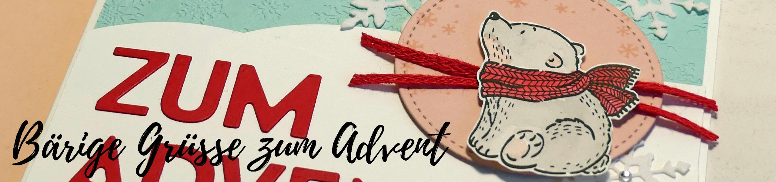 Bärige Grüße zum Advent