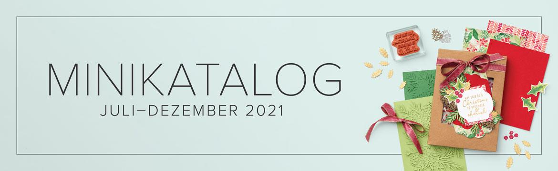 Minikatalog August-Dezember 2021 & Sale-A-Bration II